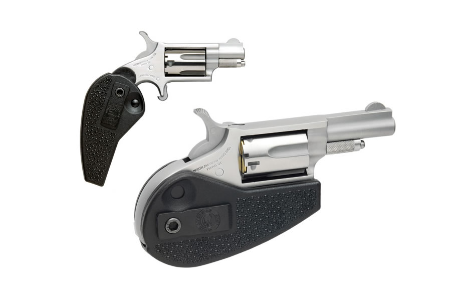 NAA 22LR MINI-REVOLVER WITH HOLSTER GRIP