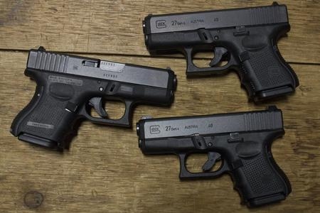 GLOCK 27 GEN4 40SW POLICE TRADES (VERY GOOD)