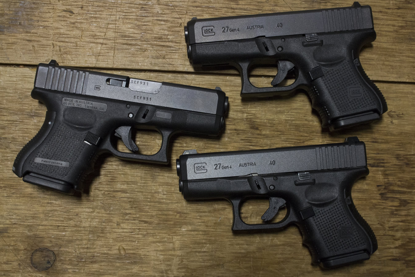27 GEN4 40SW POLICE TRADES (VERY GOOD)