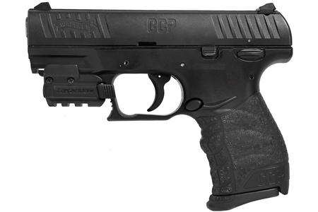 WALTHER CCP 9MM WITH LASERMAX SPARTAN LASER