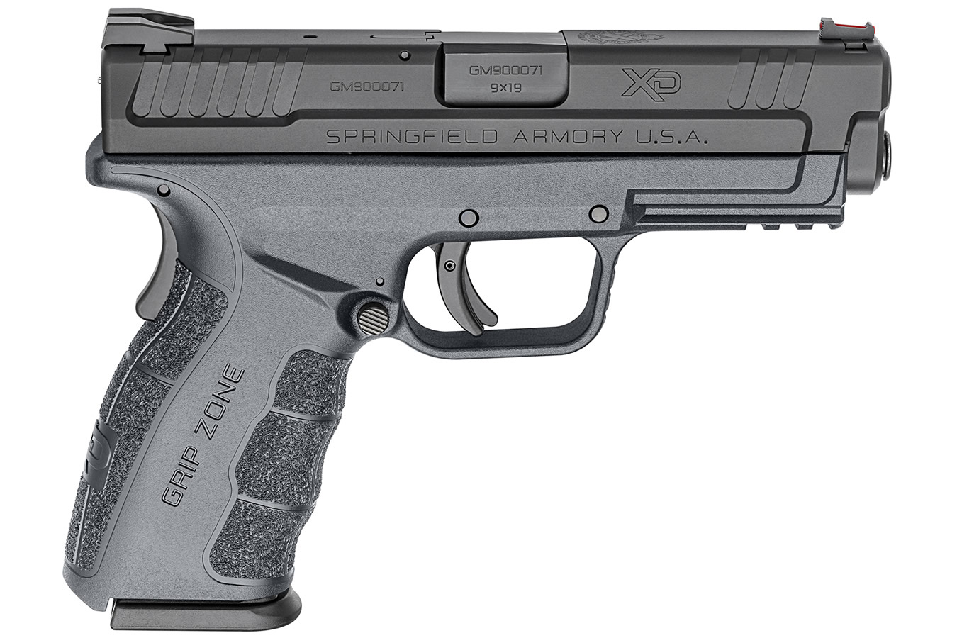 XD MOD.2 9MM 4.0 SERVICE TACTICAL GRAY