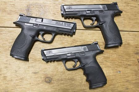 SMITH AND WESSON MP9 9MM FULL-SIZE POLICE TRADES (GOOD)