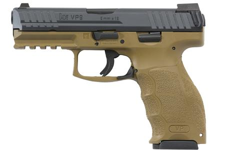 VP9 9MM FDE WITH NIGHT SIGHTS