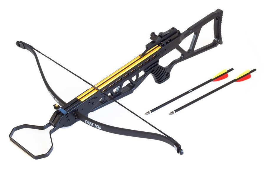 Bolt crossbows the shock crossbow vance outdoors for Crossbow fishing bolts