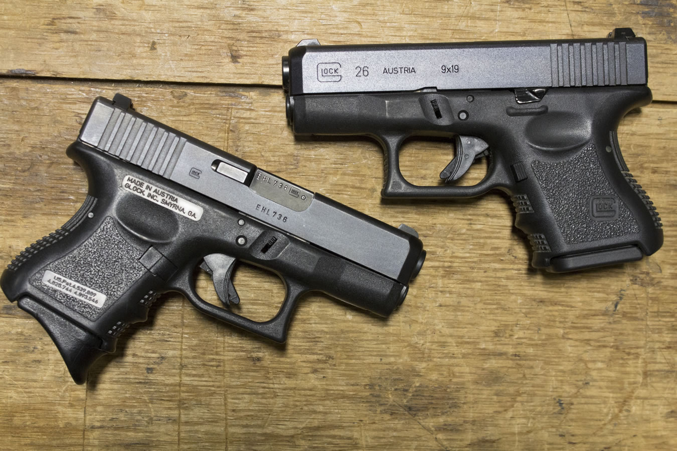 Glock 26 Gen3 9mm Police Trade-ins (Very Good) | Sportsman ...
