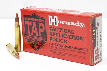 HORNADY 223 Rem 55 gr TAP Urban Trade Ammo 20/Box