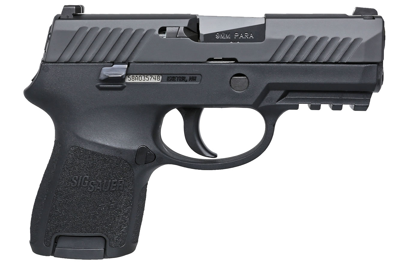 Sig Sauer P320 Subcompact 9mm With Rail Vance Outdoors