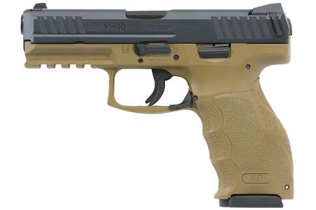 VP40 40SW FDE WITH NIGHT SIGHTS