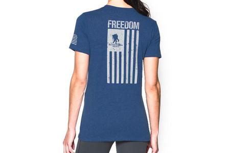 WOMENS FREEDOM FLAG TEE