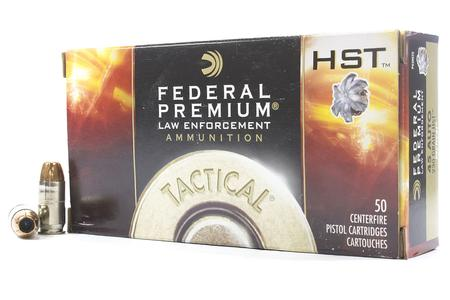 Federal 45 ACP 230 gr HST Hollow Point Tactical 50/Box