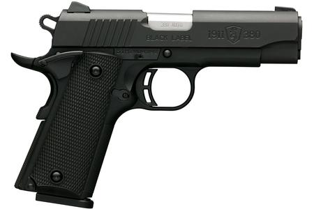 BROWNING FIREARMS 1911-380 BLACK LABEL COMPACT 380 ACP