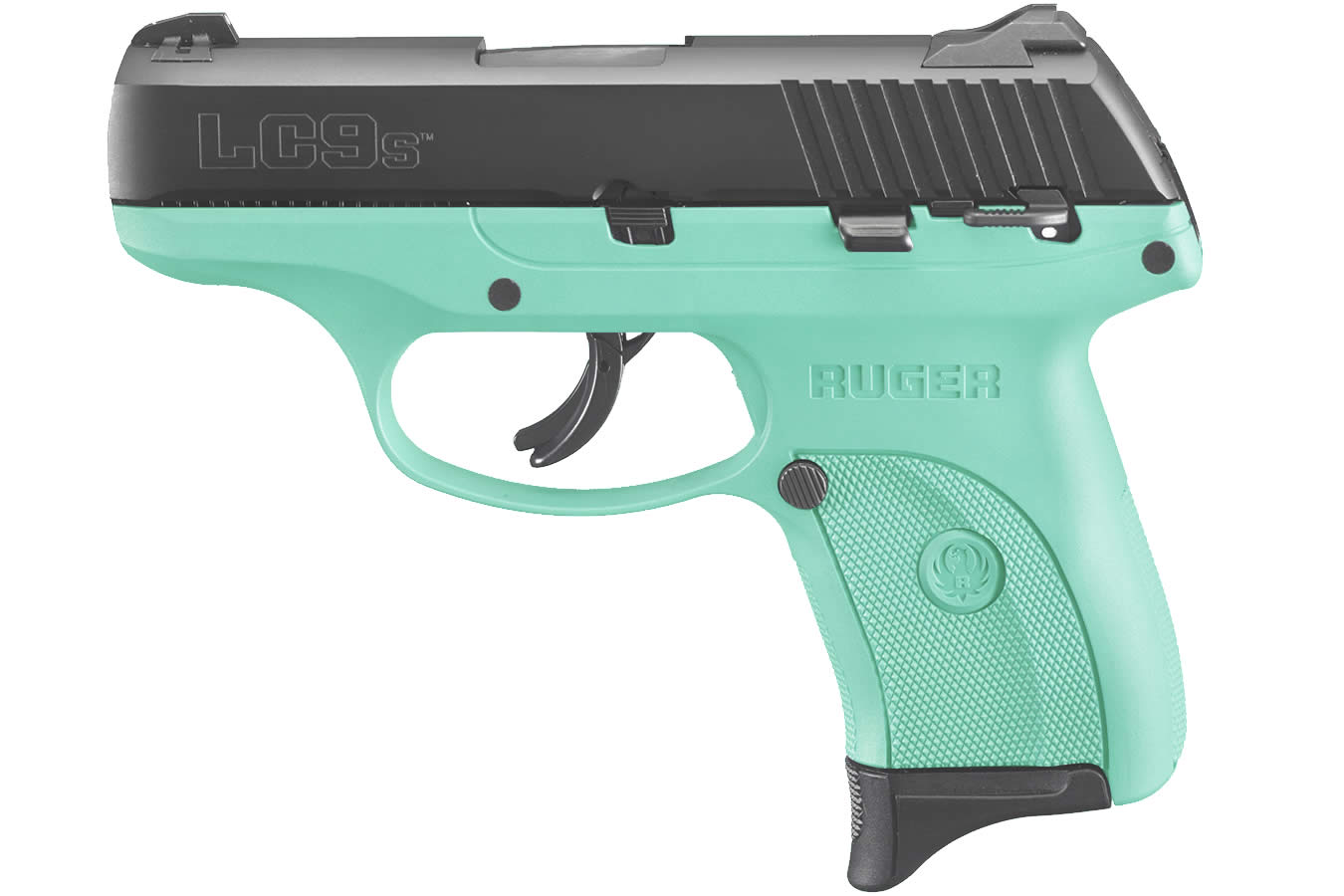 Ruger Lc9s 9mm Luger Turquoise Grip Frame Vance Outdoors