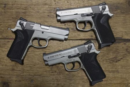 SMITH AND WESSON 3913TSW 9MM POLICE TRADE-INS (VERY GOOD)