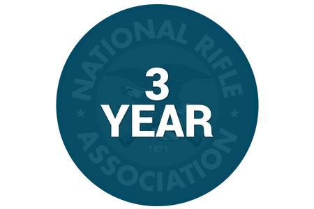 NRA 3 YEAR MEMBERSHIP