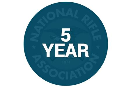 NRA 5 YEAR MEMBERSHIP