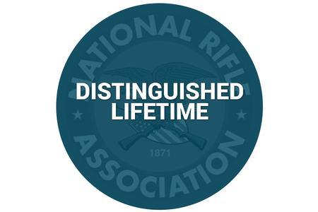 NRA DISTINGUISHED LIFETIME MEMBERSHIP