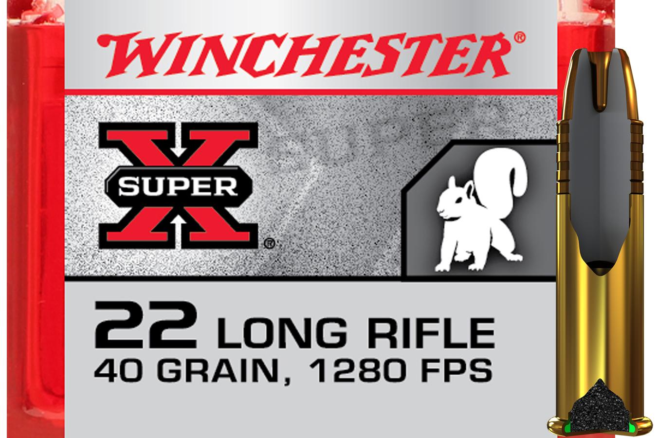 22LR 40 GR POWER-POINT CP SUPER X
