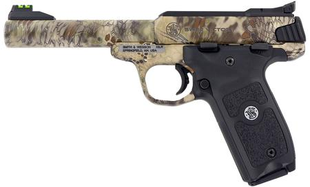 SMITH AND WESSON SW22 VICTORY 22LR KRYPTEK HIGHLANDER