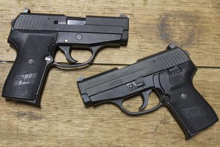 Sig Sauer P239 40 S&W DAO Police Trade-ins (Good Condition)