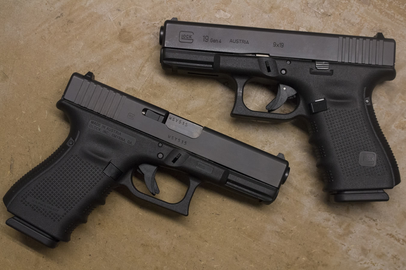 glock 19 gen4 9mm police trade ins very good condition