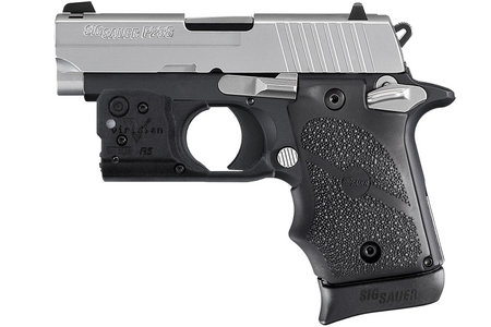 SIG SAUER P238 TWO-TONE 380 ACP WITH LASER