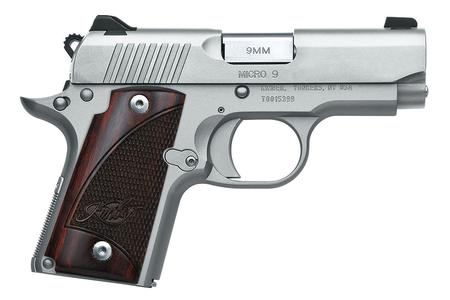 KIMBER MICRO 9 STAINLESS 9MM W/ ROSEWOOD GRIPS