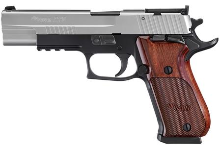 P220 SUPER MATCH 45ACP WITH WOOD GRIPS