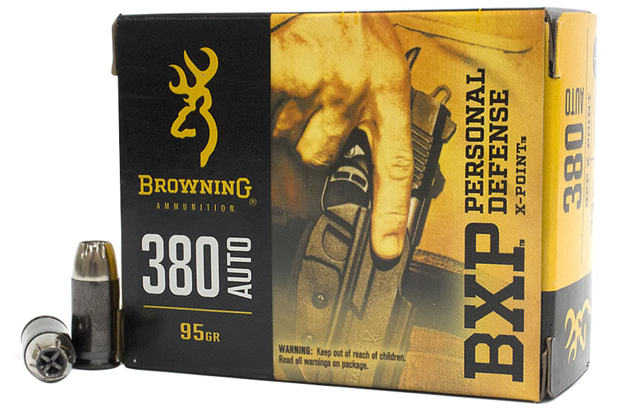 380 AUTO 95 GR X-POINT HOLLOW POINT BXP