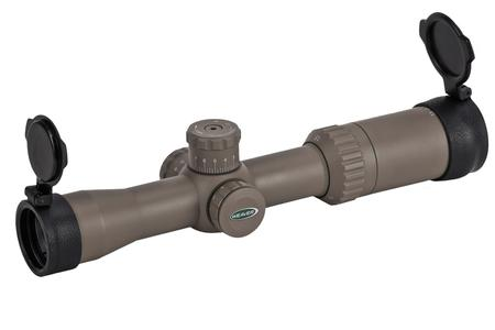 WEAVER Kaspa 1.5-6x32mm Dark Earth Tactical Riflescope with Ballistic-X Reticle