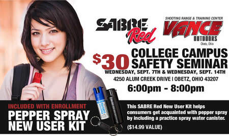 SABRE COLLEGE CAMPUS SAFETY SEMINAR