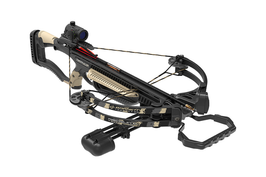 Recruit Youth 100 Tan Crossbow Package