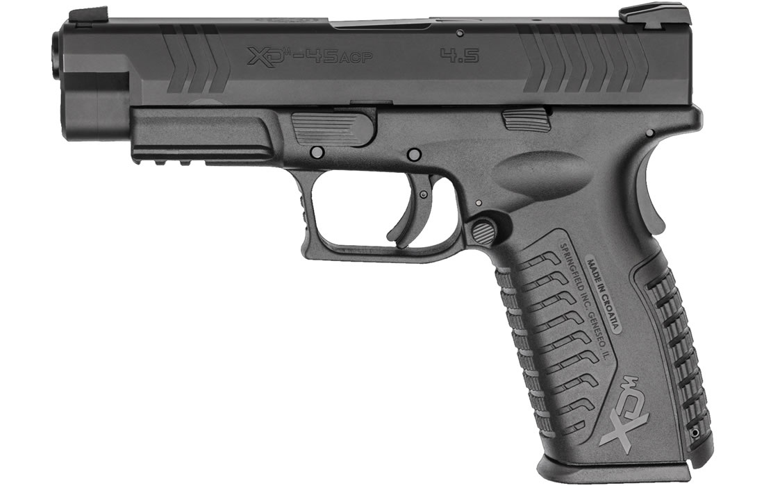 XDM 45ACP 4.5 FULL-SIZE BLACK ESSENTIALS