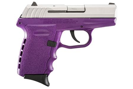 SCCY CPX-2 9MM PURPLE W/ STAINLESS SLIDE