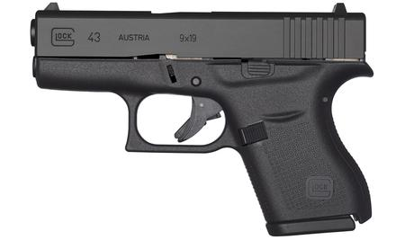43 9MM WITH DEAD RINGER NIGHT SIGHTS