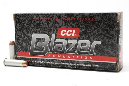 CCI 38 Special+P 125 gr TMJ Blazer Aluminum Trade Ammo 50/Box