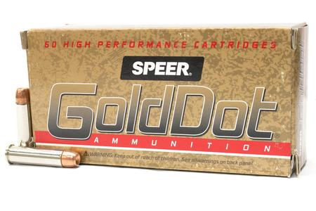 Speer 357 Magnum 158 gr Hollow Point Gold Dot Trade Ammo 50/Box