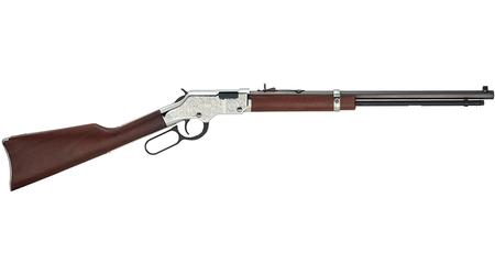 HENRY REPEATING ARMS SILVER EAGLE TRIBUTE 17HMR HEIRLOOM