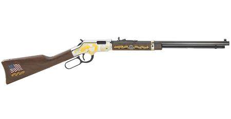 HENRY REPEATING ARMS MILITARY SERVICE TRIBUTE 2ND 22 HEIRLOOM