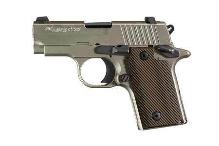SIG SAUER P238 NICKEL 380 ACP CARRY CONCEAL PISTOL