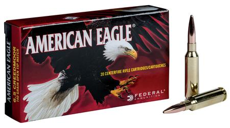 FEDERAL AMMUNITION 6.5mm Creedmoor 140 gr Open Tip Match (OTM) American Eagle 20/Box