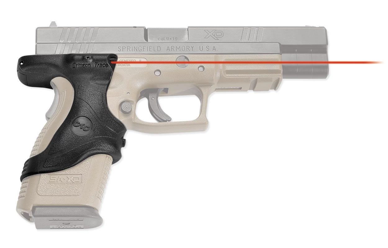 LASERGRIPS FOR SPRINGFIELD XD9 AND XD40