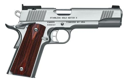 STAINLESS GOLD MATCH II 45 ACP