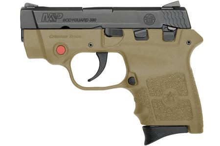 SMITH AND WESSON MP BODYGUARD 380 FDE WITH LASER