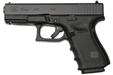 GLOCK 19 GEN4 9MM 15 RD PISTOL (MADE IN USA)