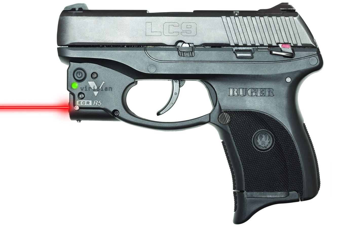 Viridian Reactor R5 Red Laser For Ruger Lc9 Lc9s Lc380