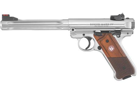 RUGER MARK IV HUNTER 22LR RIMFIRE PISTOL