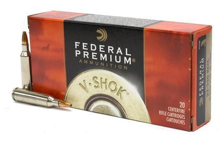 FEDERAL AMMUNITION 22-250 Rem 43 gr Speer TNT Green V-Shok 20/Box