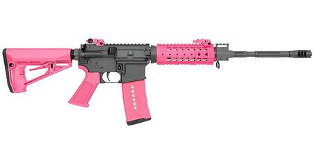 ROCK RIVER ARMS LAR-15 5.56MM NSP CAR W/ PINK FURNITURE