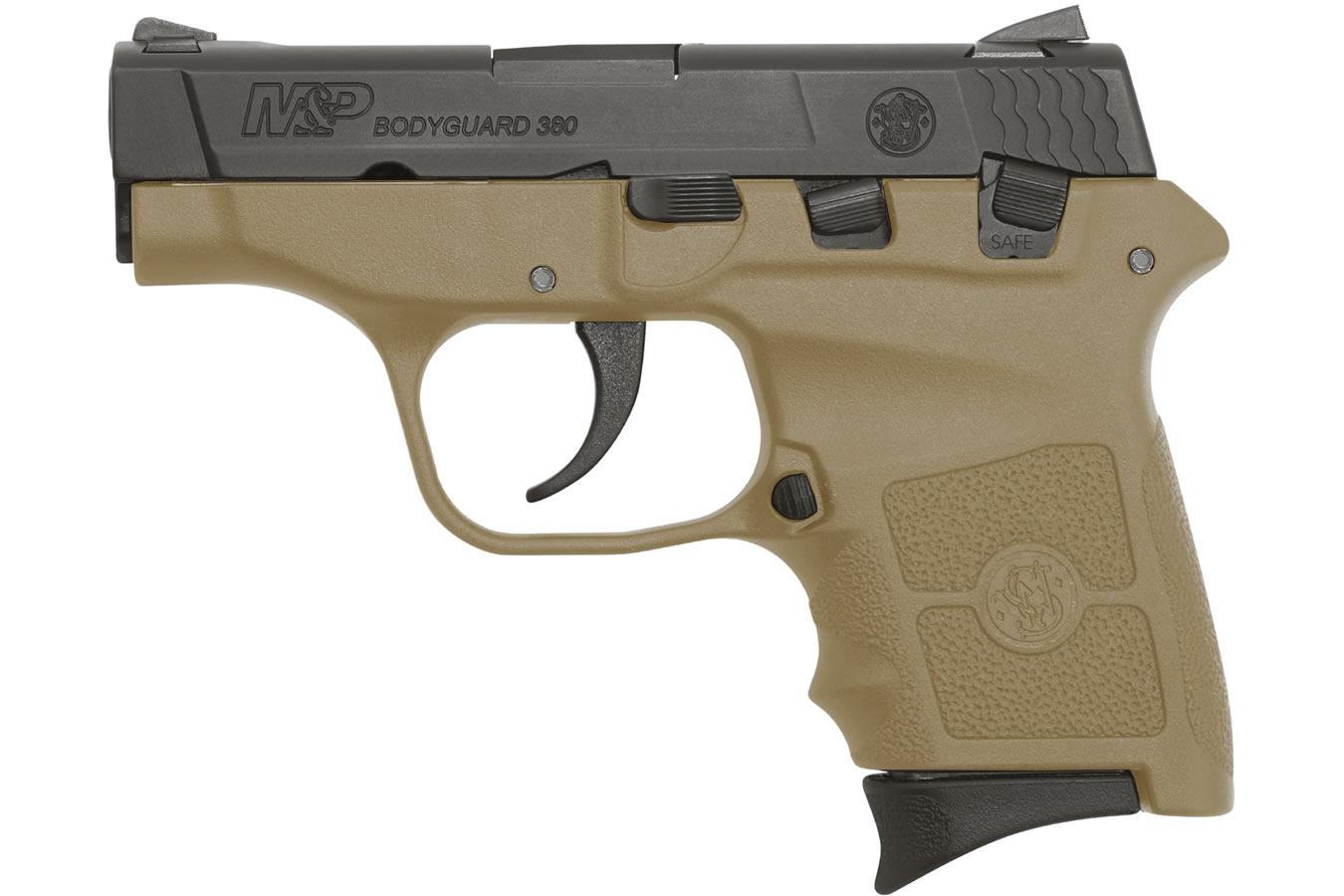 M&P Bodyguard 380 Flat Dark Earth (FDE) Carry Conceal Pistol