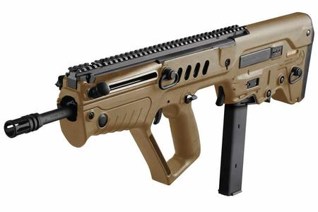 IWI TAVOR SAR 9MM FDE FLATTOP RIFLE